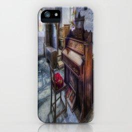 Olde Church Organ iPhone Case