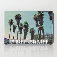 west coast iPad Cases featuring West Coast by Romeo & Rebeccah