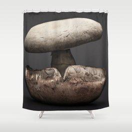 Bello Mushroom - Food Photography Shower Curtain