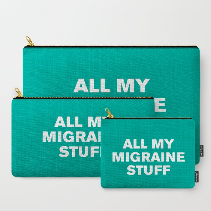 All_My_Migraine_Stufftm_Arcadia_CarryAll_Pouch_by_Casualty_Girl__Set_of_3