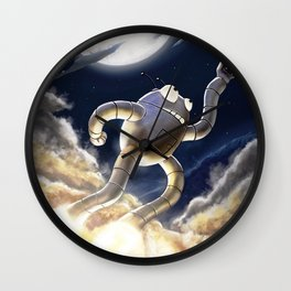 Highest 5 Ever Wall Clock