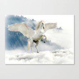 Magic Unicorn Canvas Print