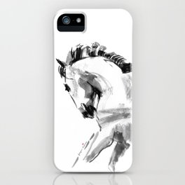 Young Beautiful Horse iPhone Case