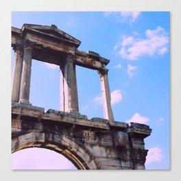 Hadrian's Arch, Athens, Greece Canvas Print