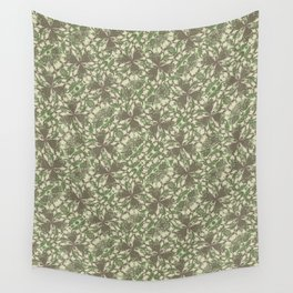 Vintage Baroque Pattern Wall Tapestry