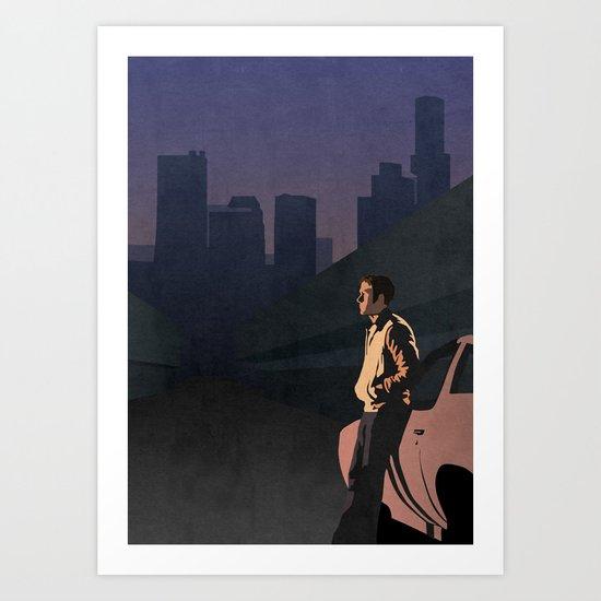 DRIVE (NO TITLE) Art Print
