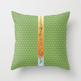 Legend of Link: 25th anniversary Throw Pillow