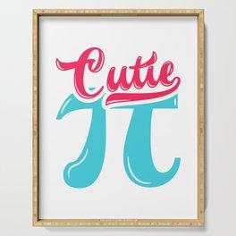 Cutie Pi Cute Math design Serving Tray