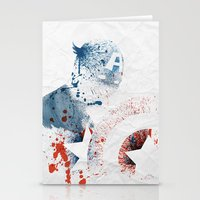 soldier Stationery Cards featuring The Soldier by Arian Noveir
