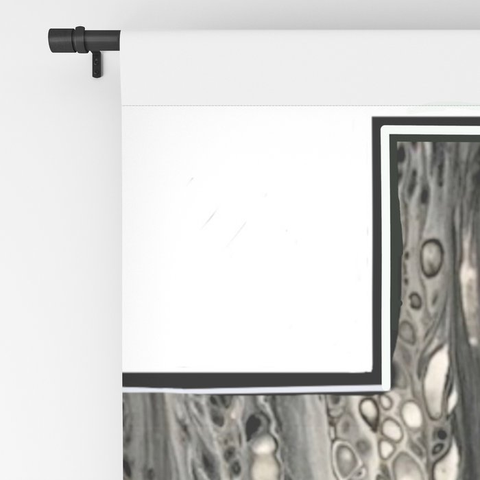 Fluid Art Cross Blackout Curtain