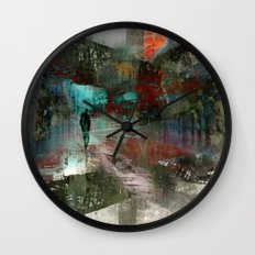 A city without you Wall Clock