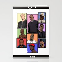 hiphop Stationery Cards featuring HipHop Legends by Akyanyme