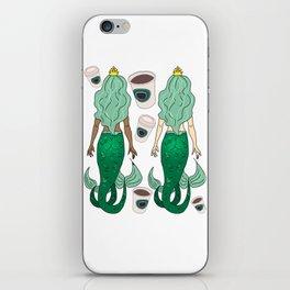 Star Butts Mermaids Coffee iPhone Skin