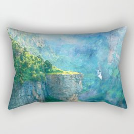 Deep Gorge Rectangular Pillow