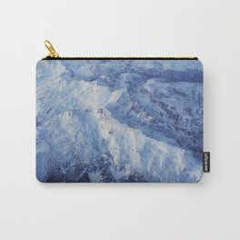 Winter Mountain Range II Carry-All Pouch
