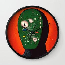 Robots Have Feelings Too Wall Clock