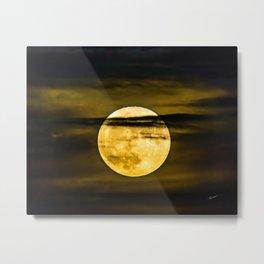 The Beaver Moon Metal Print