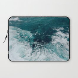 Ocean Waves (Teal) Laptop Sleeve