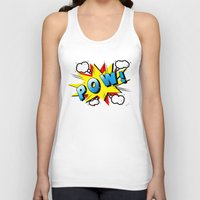 comics Tank Tops featuring comics  by mark ashkenazi