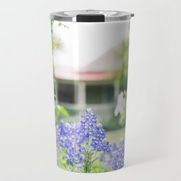 Brenham Bluebonnets - Brenham, Texas Travel Mug