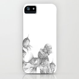 In which fish show concern iPhone Case
