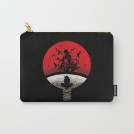 Naruto Shippuden Uchiha Clan Logo Carry-All Pouch