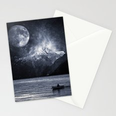 Fading Mountain Stationery Cards