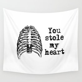 You stole my heart Wall Tapestry