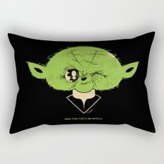StarWars May the Force be with you (green vers.) Rectangular Pillow