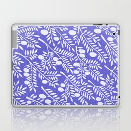 Olive Branches – Periwinkle Laptop & iPad Skin