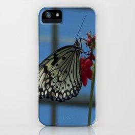 blue skys iPhone Case