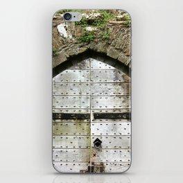 Caerphilly Castle Gate iPhone Skin