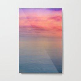 Morning Love - Colors of the Sea Metal Print