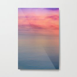 Morning Love - Colors of the Sea Metal Print