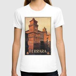 Castello Estense Ferrara Italy T-shirt
