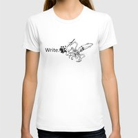 write T-shirts featuring Write, Squid. by KyleWhiteInk