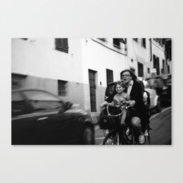 The Bike Ride Canvas Print