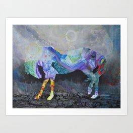 Wild Horse: Look Within Art Print