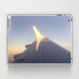 Sunlight on a Plane Wing Laptop & iPad Skin