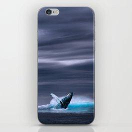 Breaching Whale iPhone Skin