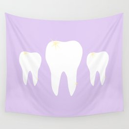 Les Dents Wall Tapestry