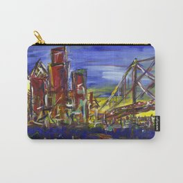 Philly Skyline with Ben Franklin Bridge Carry-All Pouch