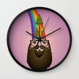 Tree Head Wall Clock