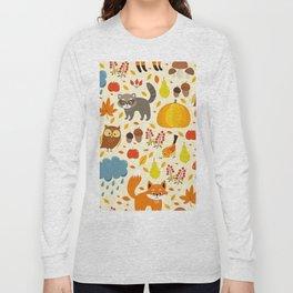 Woodland Animals Long Sleeve T-shirt