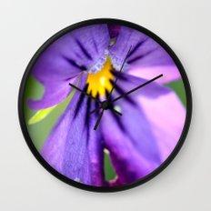 pansy, Wall Clock