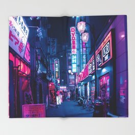 Tokyo 24h Throw Blanket