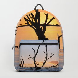 Sunset Silhouette Backpack