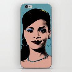 Rihanna Pop Art iPhone & iPod Skin