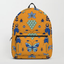 Insectarium Pattern Backpack