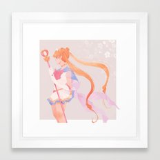 Super S Framed Art Print
